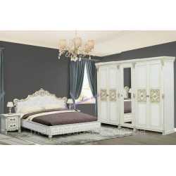 Спальня АМАНДА Скай (комплект с 5-и дв. шкафом)