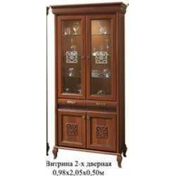 Витрина 2х дверная ЛАУРА НОВА СКАЙ