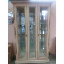 Витрина 2-х дверная с зеркалом TERRA Скай