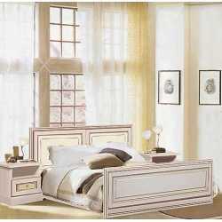 """Кровать 1,60 """"С-3"""" Беж Гоа"""