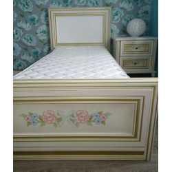 Кровать 0,8м ПРИНЦЕССА Скай
