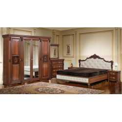 Спальня АМАНДА Скай (комплект с 4-х дв. шкафом)