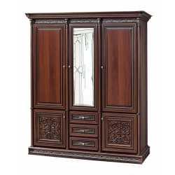 Шкаф 3-х дверный вариант №1 Тоскана НОВА Скай