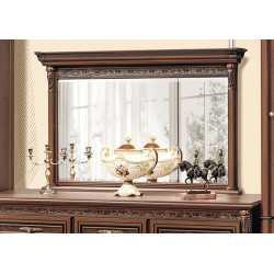 Зеркало с карнизом 1,18м Тоскана НОВА Скай